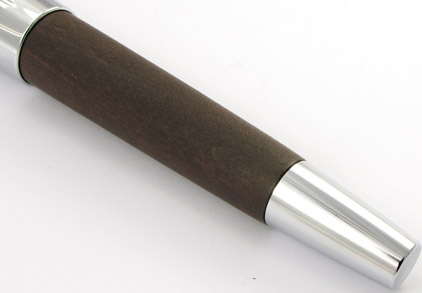 Le roller E-Motion Bois de poirier Moka et Chrome de Faber-Castell - photo 3