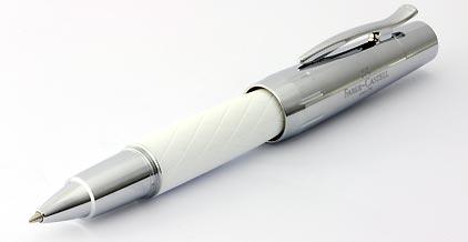 Roller E-Motion Losange Blanc de Faber-Castell - photo.