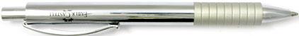 Le portemine Basic Métal chromé de Faber-Castell , cliquez pour plus de d�tails sur ce stylo...