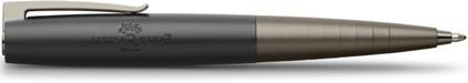 Stylo bille Loom Gunmetal mat de Faber-Castell, cliquez pour plus de détails sur ce stylo...