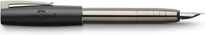Stylo plume Loom Gunmetal brillant de Faber-Castell, cliquez pour plus de détails sur ce stylo...
