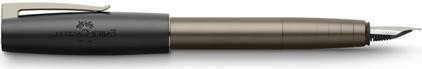 Stylo plume Loom Gunmetal mat de Faber-Castell, cliquez pour plus de détails sur ce stylo...