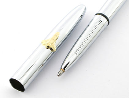 Stylo bille Space Pen Bullet de Fisher chromé avec navette et sans clip - SF 1007 - photo 4