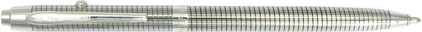 Stylo bille Space Pen SF 1015 Chromé quadrillé sans navette de Fisher, cliquez pour plus de détails sur ce stylo...