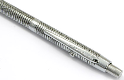 Stylo bille Space Pen SF 1015 Chromé quadrillé sans navette de Fisher - photo 2
