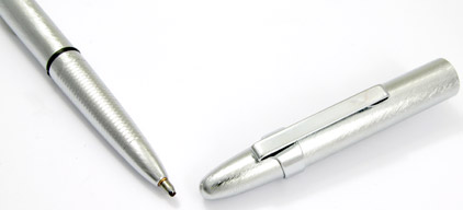 Stylo bille Space Pen Bullet de Fisher brossé avc clip - SF 1201 - photo 4