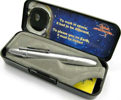 Stylo bille Space Pen Bullet de Fisher brossé avc clip - SF 1201 - photo 5