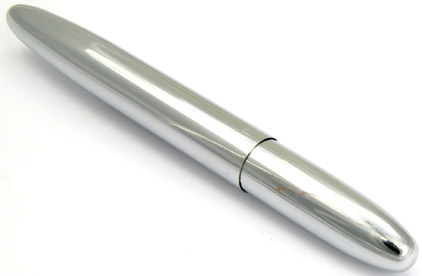 Stylo bille Space Pen Bullet de Fisher chromé sans clip - SF 1079 - photo 2