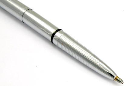 Stylo bille Space Pen Bullet de Fisher chromé sans clip - SF 1079 - photo 4