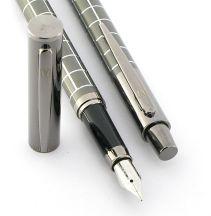 Parure stylo plume/stylo bille Swing gun de Vuarnet