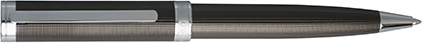 Stylo bille Column Dark Chrome de Boss