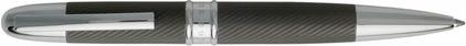 Stylo bille Matte dark chrome Stripe de Boss, cliquez pour plus de d�tails sur ce stylo...