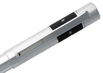 Stylo bille Ribbon chrome de Boss - photo 2