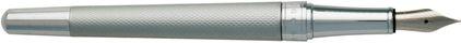 Stylo plume Essential matte chrome de Boss, cliquez pour plus de d�tails sur ce stylo...