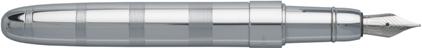 Stylo plume Rise chrome de Boss, cliquez pour plus de détails sur ce stylo...
