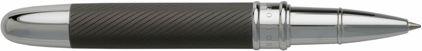 Roller Matte dark chrome Stripe de Boss, cliquez pour plus de d�tails sur ce stylo...