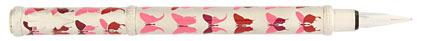 Stylo plume Champagne papillons roses Butterfly de « Inès de la Fressange »