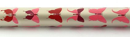 Stylo plume Champagne papillons roses Butterfly de « Inès de la Fressange » - photo 5