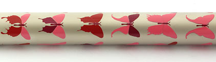 Roller Champagne papillons roses Butterfly de « Inès de la Fressange » - photo 4