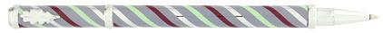 Roller lavande tourbillons bordeaux Candy de « Inès de la Fressange », cliquez pour plus de détails sur ce stylo...