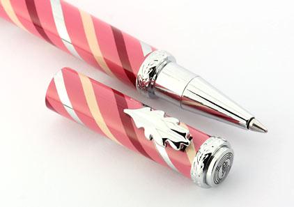 Roller rose tourbillons bordeaux Candy de « Inès de la Fressange » - photo 4