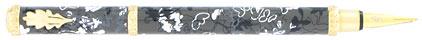 Stylo plume Feuillage gris de « Inès de la Fressange », cliquez pour plus de détails sur ce stylo...