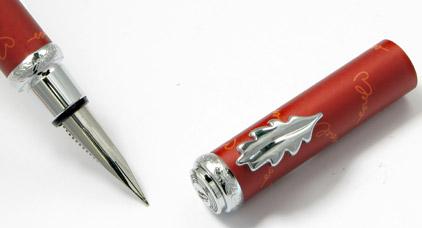 Stylo plume rouge Je t'aime « Inès de la Fressange » - photo 4