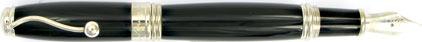 Stylo Plume Indigo Classic INOF de Jean Pierre Lépine, cliquez pour plus de détails sur ce stylo...