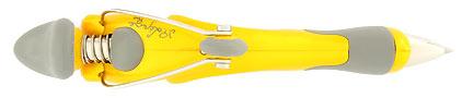 Stylo bille Free Ride Yellow de Jean Pierre Lépine, cliquez pour plus de d�tails sur ce stylo...