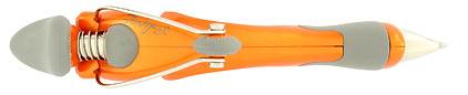 Stylo bille Free Ride Orange de Jean Pierre Lépine, cliquez pour plus de détails sur ce stylo...