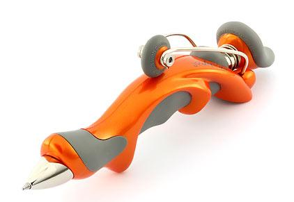Stylo bille Free Ride Orange de Jean Pierre Lépine - photo.