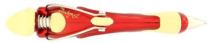 Stylo bille Free Ride Red de Jean Pierre Lépine, cliquez pour plus de d�tails sur ce stylo...