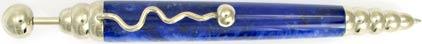Stylo bille Zigzag Bleu ZL41 de Jean-Pierre Lepine, cliquez pour plus de d�tails sur ce stylo...