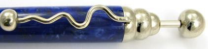 Stylo bille Zigzag Bleu ZL41 de Jean-Pierre Lepine - photo 3