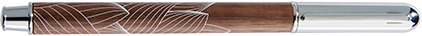 Stylo plume Canopée noyer de Oberthur