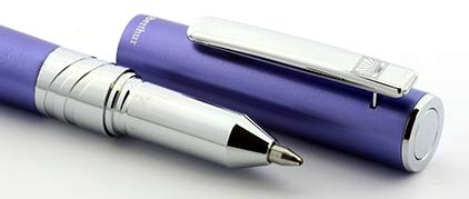 Stylo bille Electra mauve d'Oberthur - photo 3