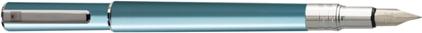 Stylo plume Electra bleu lagon d'Oberthur, cliquez pour plus de détails sur ce stylo...