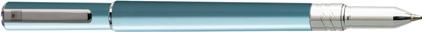 Roller Electra bleu lagon d'Oberthur, cliquez pour plus de d�tails sur ce stylo...