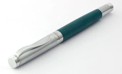 stylo plume turquoise