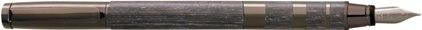 Stylo plume Jazz abricotier metal gun de Oberthur, cliquez pour plus de détails sur ce stylo...