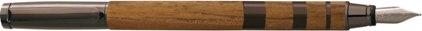 Stylo plume Jazz teck metal gun de Oberthur, cliquez pour plus de détails sur ce stylo...