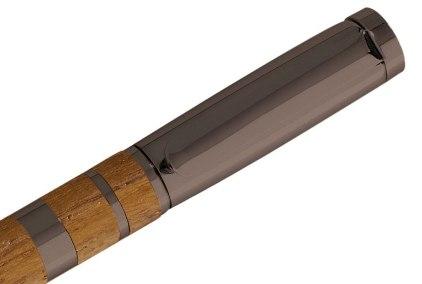 Stylo plume Jazz teck metal gun de Oberthur - photo 2