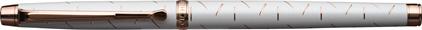 Stylo bille Palazzo blanc de Oberthur, cliquez pour plus de d�tails sur ce stylo...