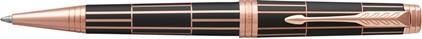 Stylo bille Luxury laqué brown nouvelle version de Parker, cliquez pour plus de d�tails sur ce stylo...