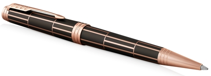 Stylo bille Luxury laqué brown nouvelle version de Parker - photo.
