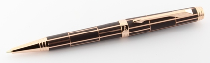 Stylo bille Luxury laque brown Premier Parker - photo 2