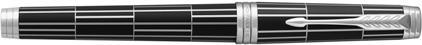 Stylo roller Luxury black nouvelle version de Parker, cliquez pour plus de d�tails sur ce stylo...