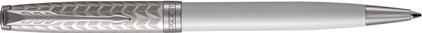 Stylo bille Sonnet laque perle et métal, cliquez pour plus de détails sur ce stylo...