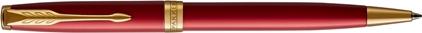 Stylo bille Sonnet laque rouge, cliquez pour plus de d�tails sur ce stylo...