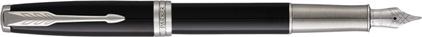 Stylo plume Sonnet laqué noir palladié CT nouvelle version, cliquez pour plus de d�tails sur ce stylo...